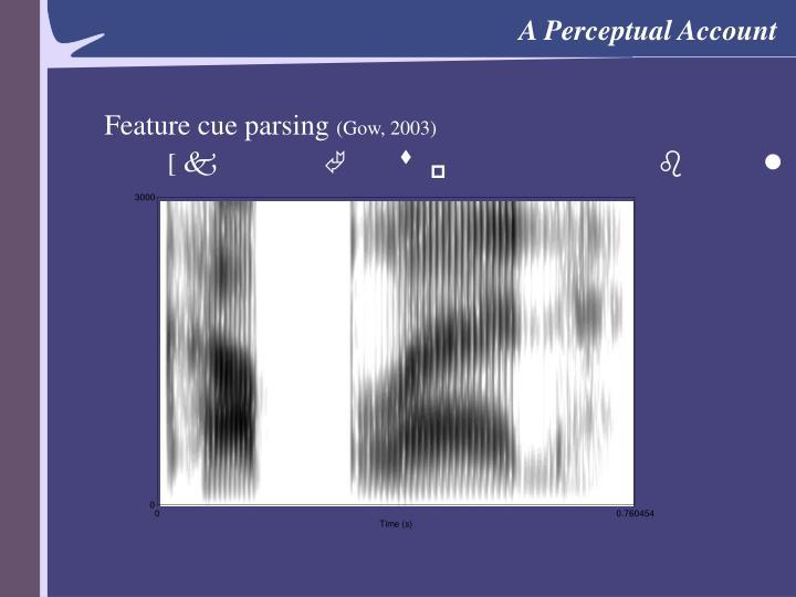 A Perceptual Account