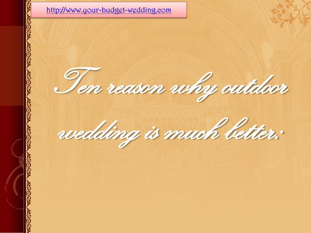 http://www.your-budget-wedding.com