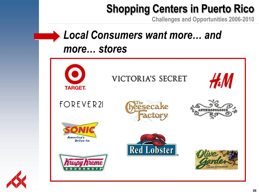 Local Consumers want more… and more… stores