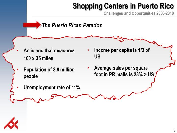 The puerto rican paradox