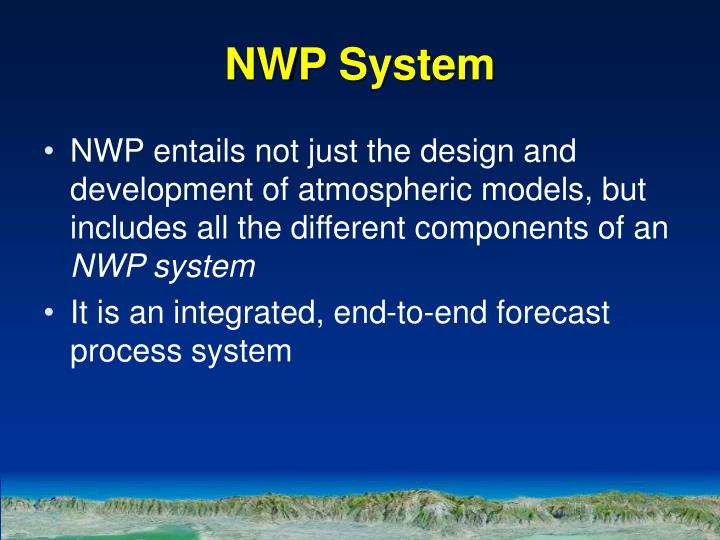 NWP System
