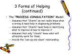3 forms of helping continued10