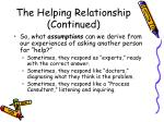 the helping relationship continued6