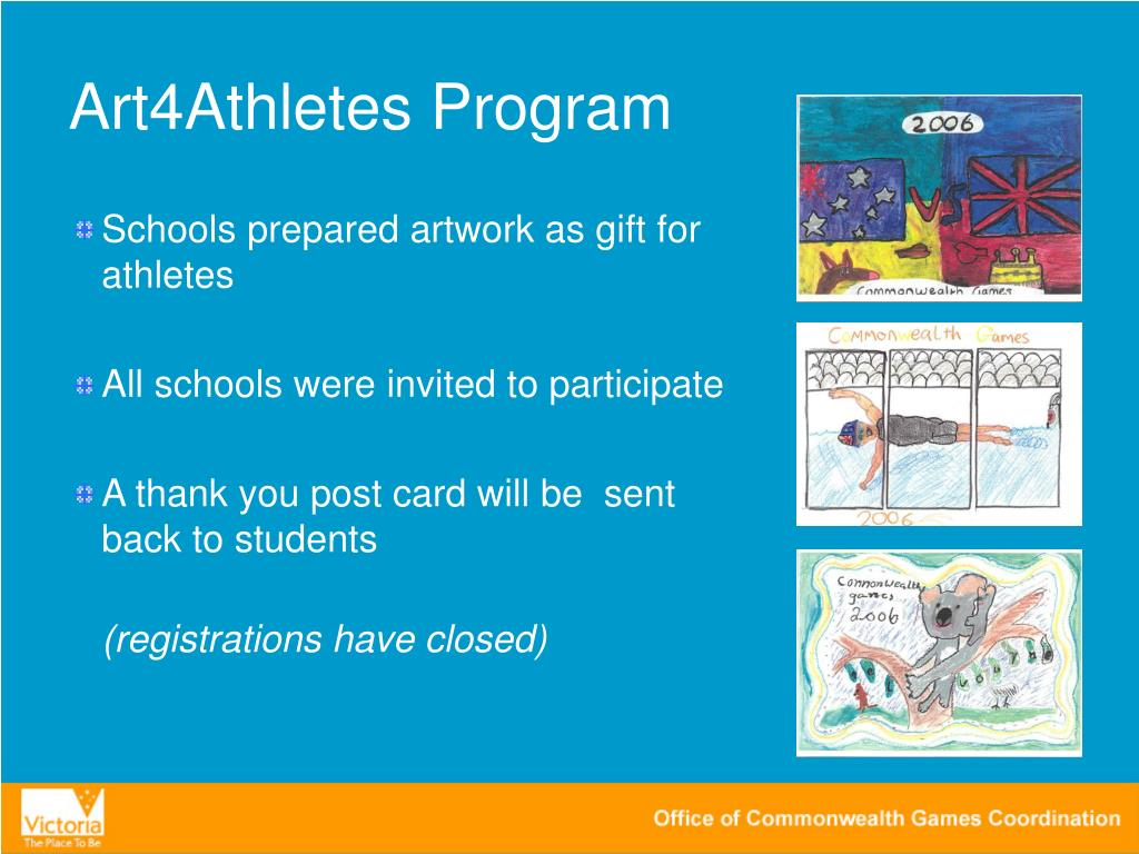 Art4Athletes Program