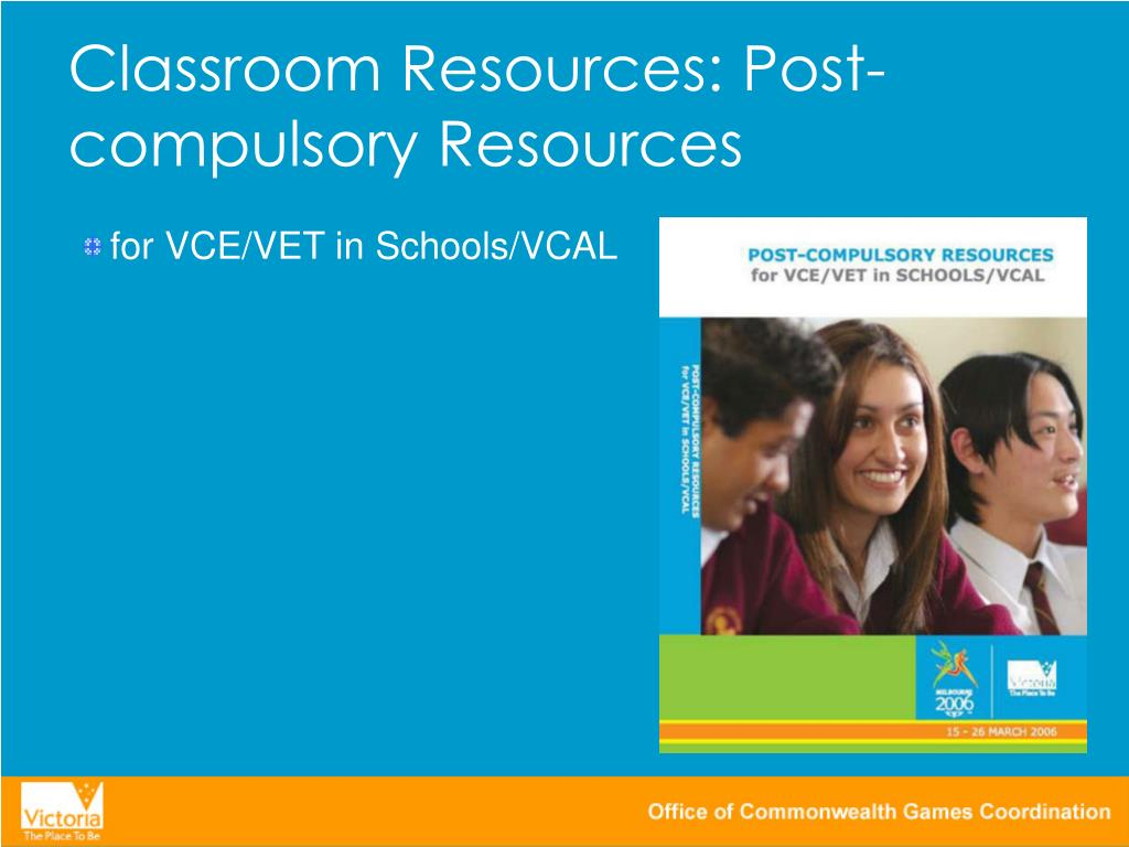 Classroom Resources: Post-compulsory Resources