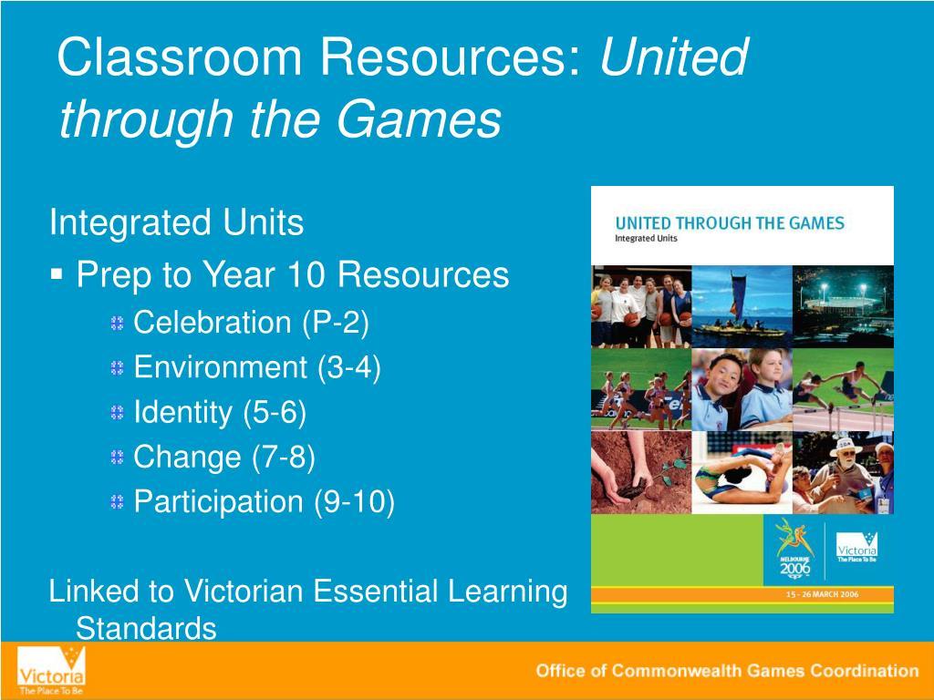 Classroom Resources: