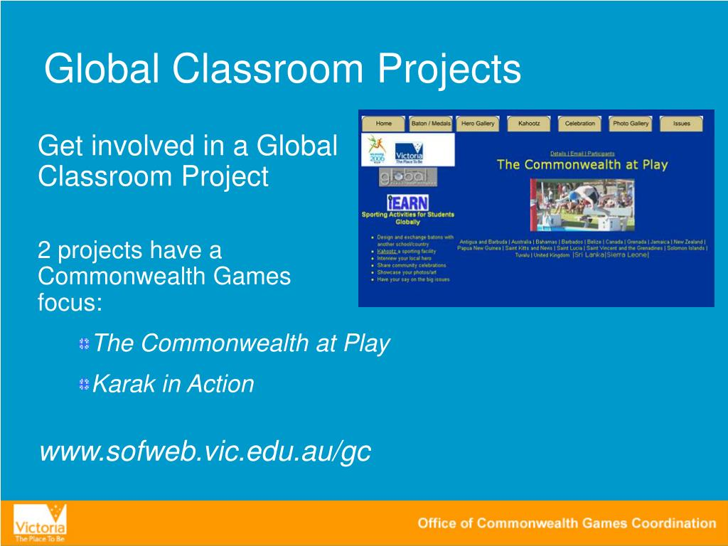 Global Classroom Projects