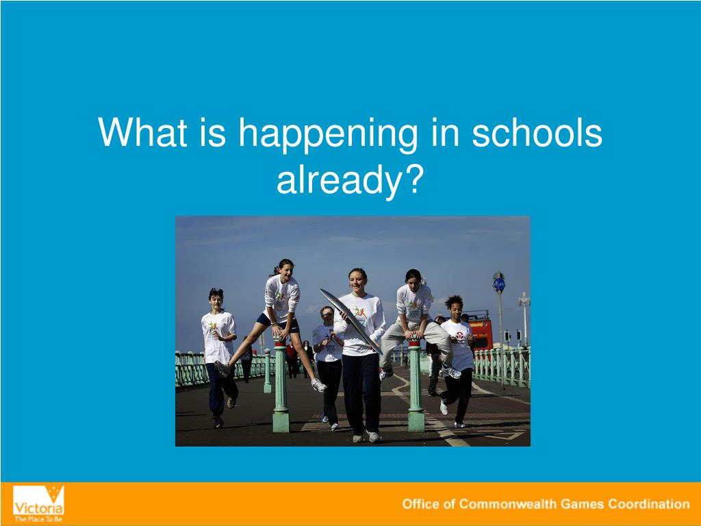 What is happening in schools already?