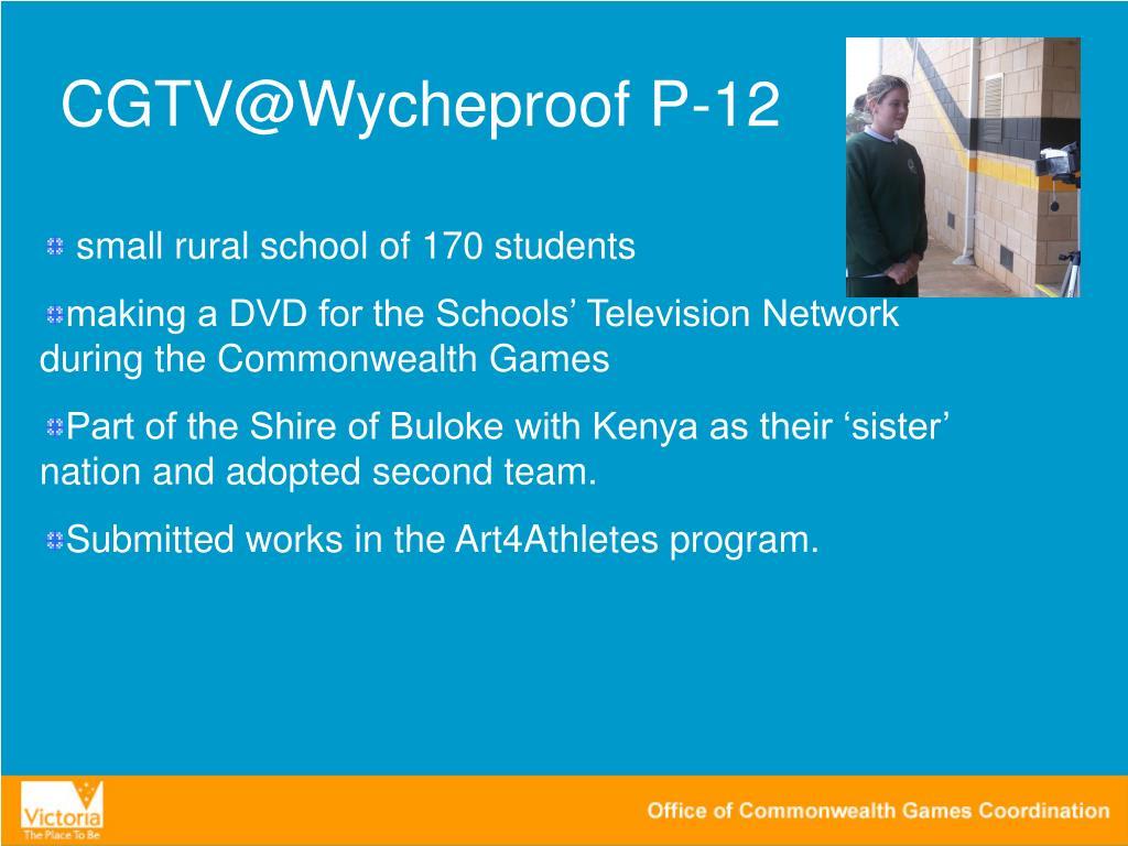 CGTV@Wycheproof P-12