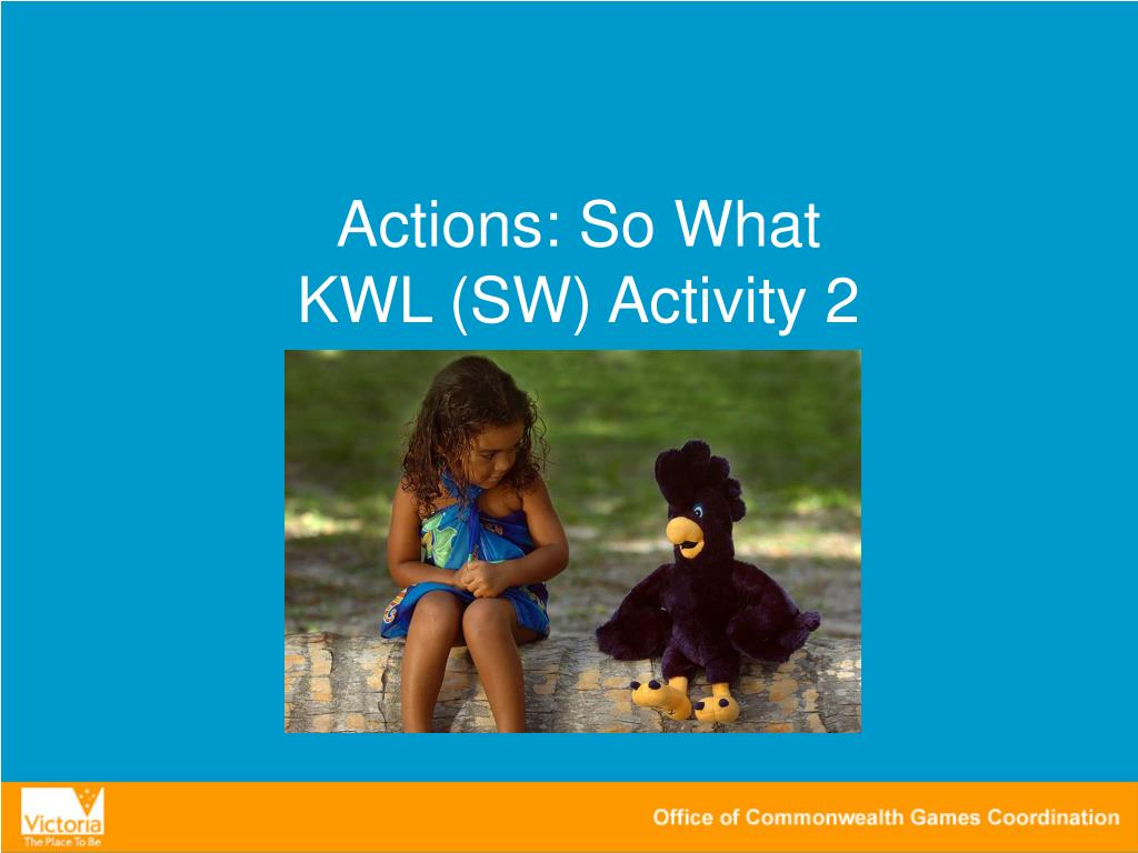 Actions: So What
