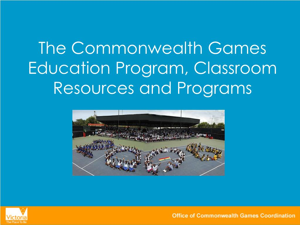 The Commonwealth Games Education Program, Classroom Resources and Programs