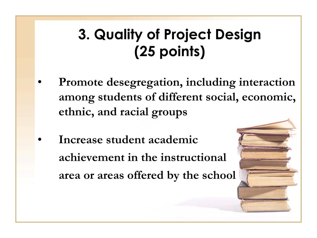 3. Quality of Project Design