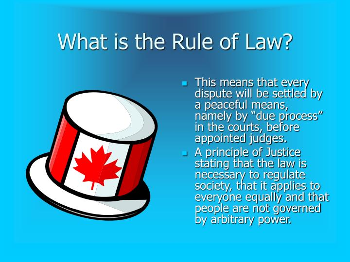 What is the Rule of Law?