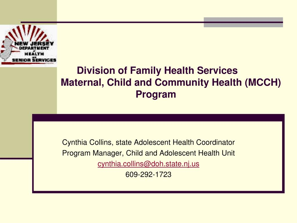 Division of Family Health Services
