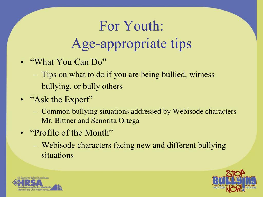 For Youth: