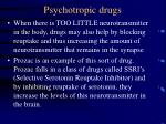 psychotropic drugs23