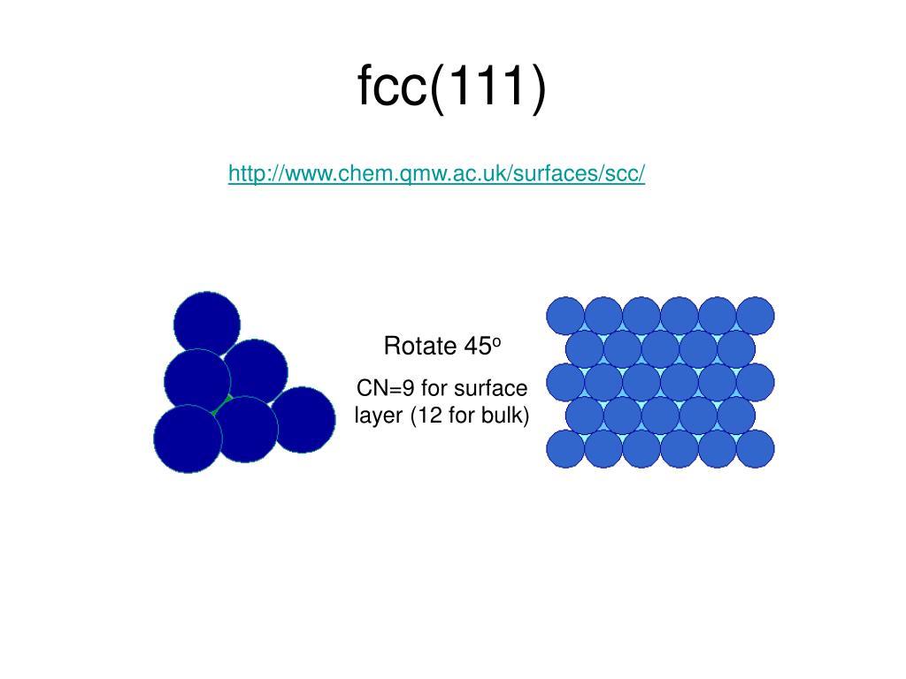 fcc(111)