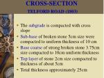 cross section telford road 180316