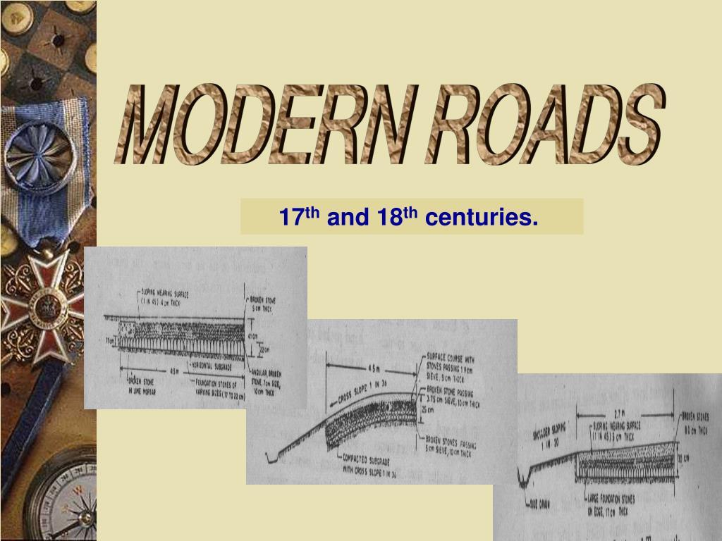 MODERN ROADS