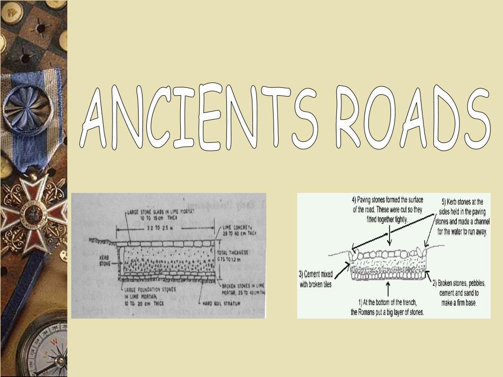 ANCIENTS ROADS