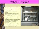 wheel tracker