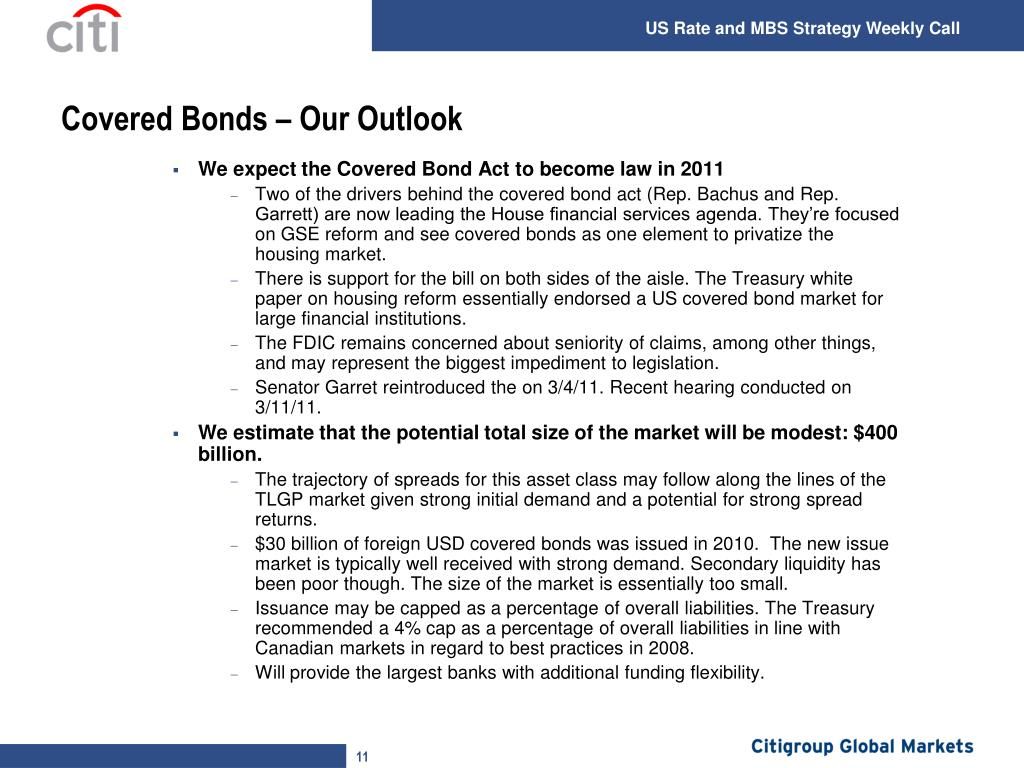 Covered Bonds – Our Outlook