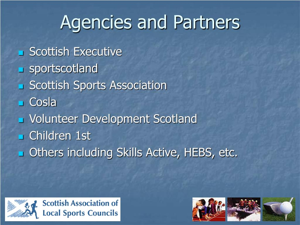 Agencies and Partners