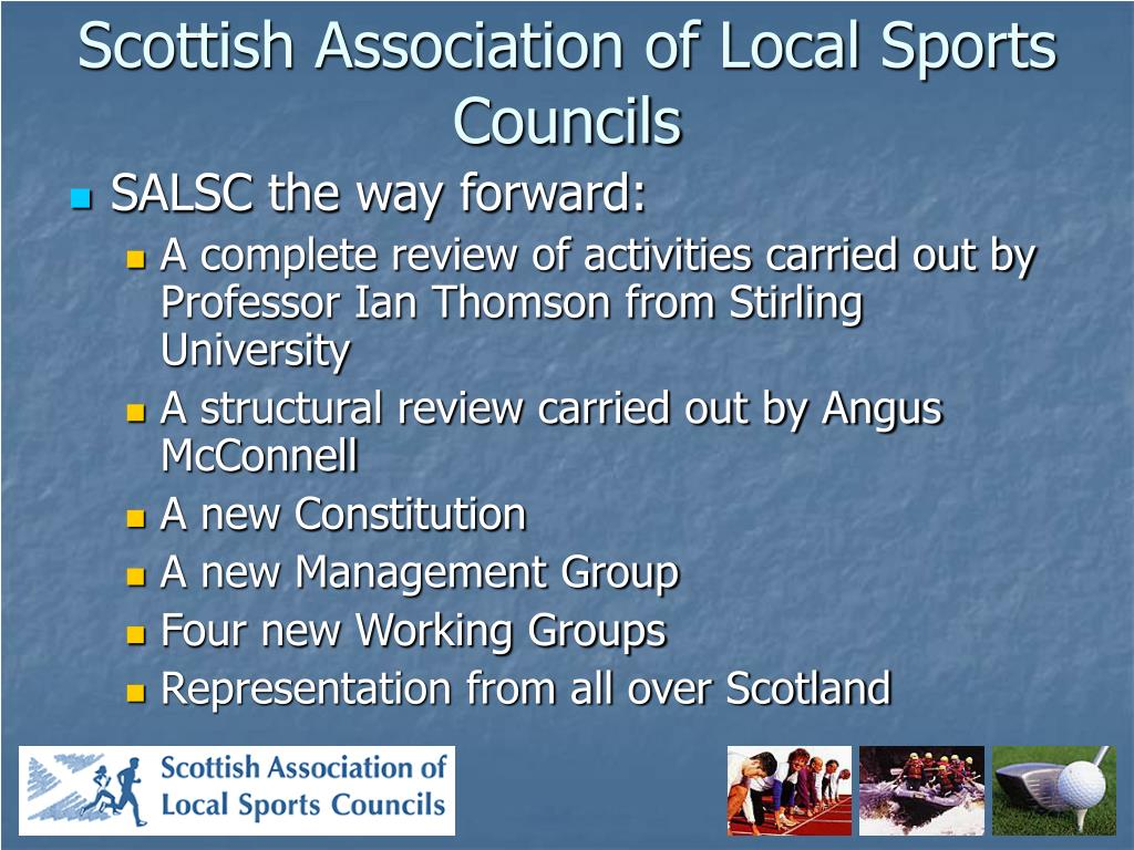 Scottish Association of Local Sports Councils
