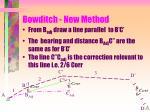 bowditch new method15