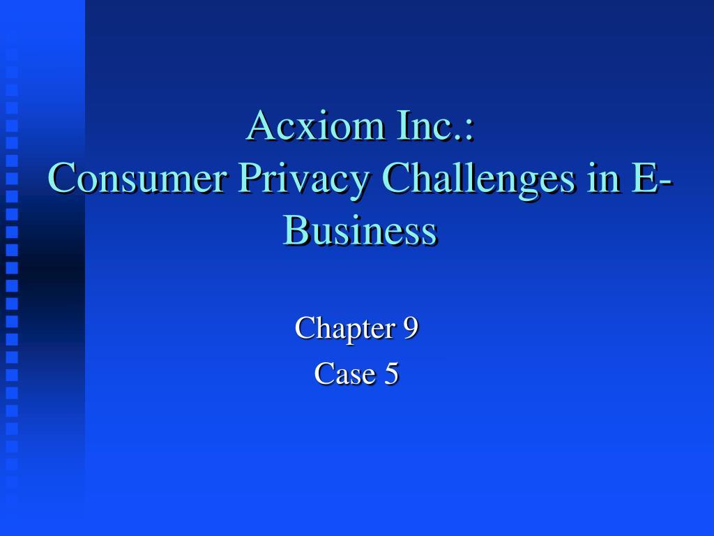Acxiom Inc.: