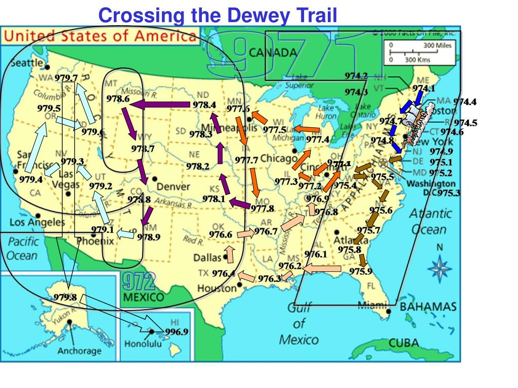Crossing the Dewey Trail