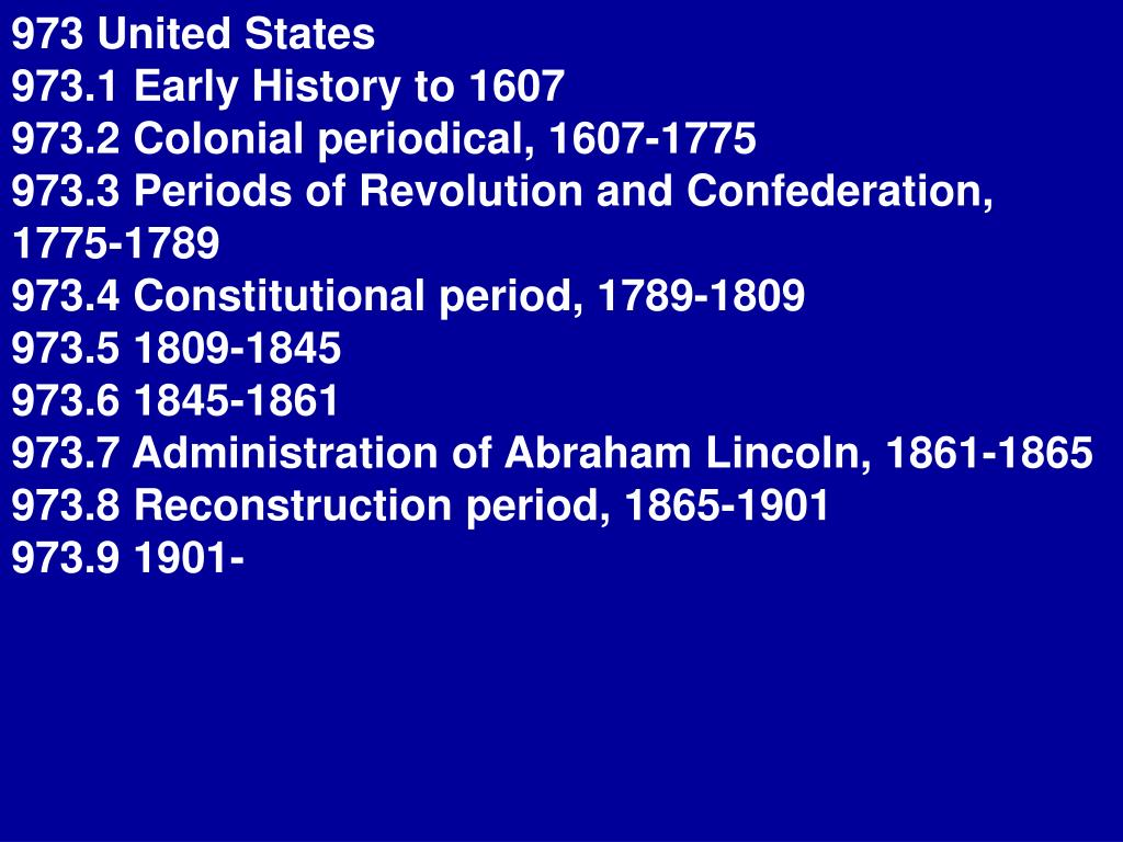 973 United States