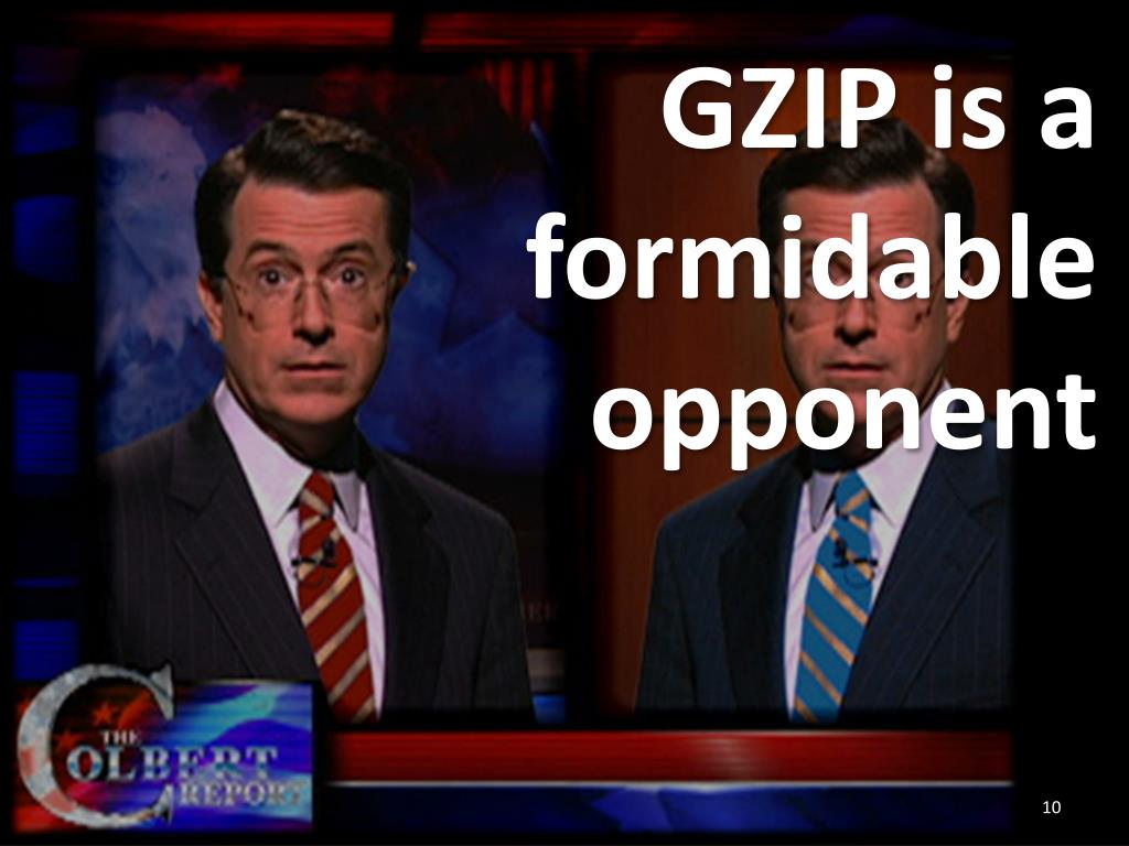 GZIP is a