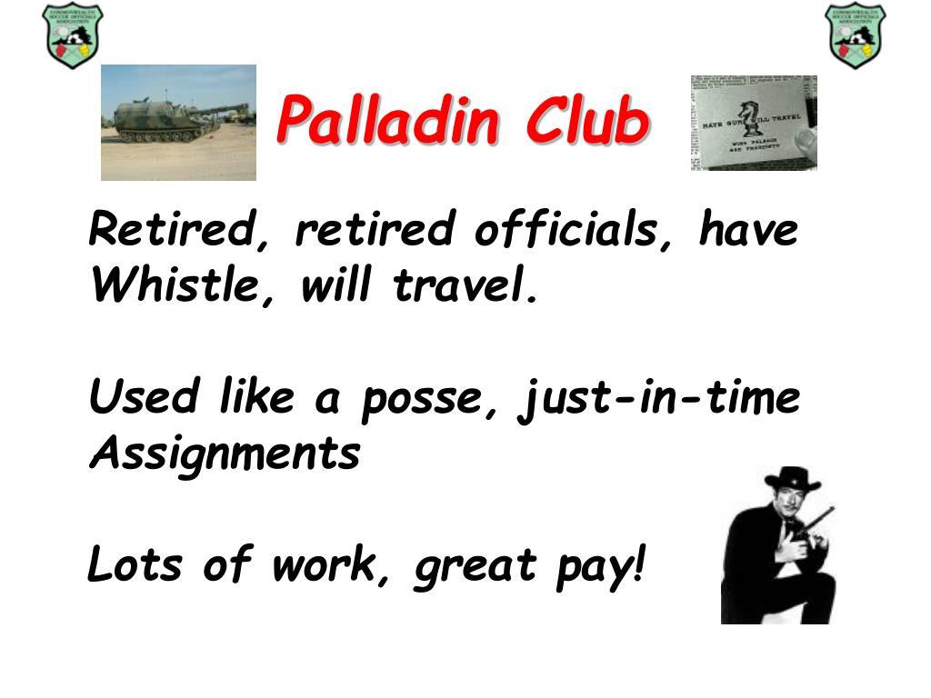 Palladin Club