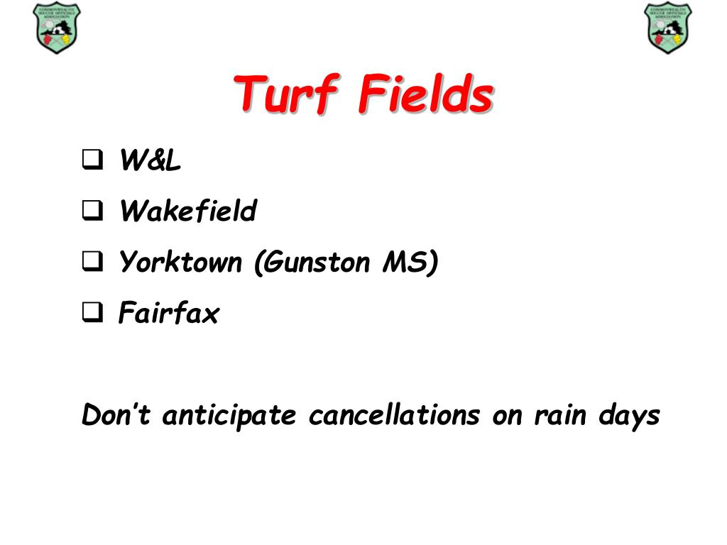 Turf Fields