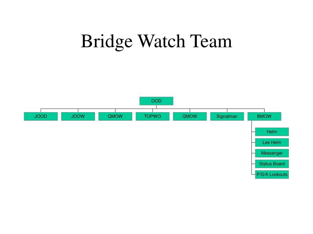 Bridge Watch Team