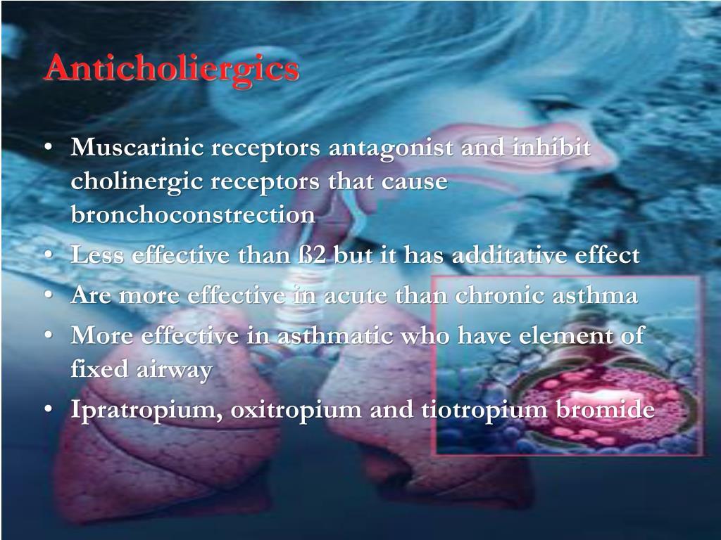 Anticholiergics