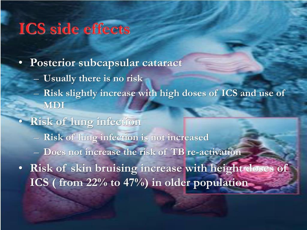 ICS side effects