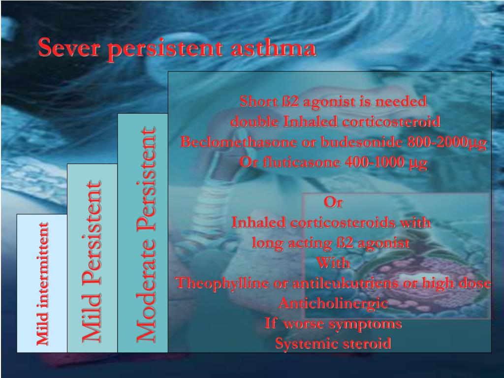 Sever persistent asthma