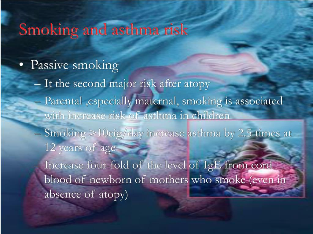 Smoking and asthma risk