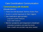 care coordination communication
