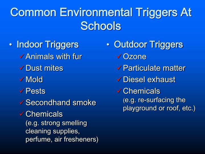 Indoor Triggers