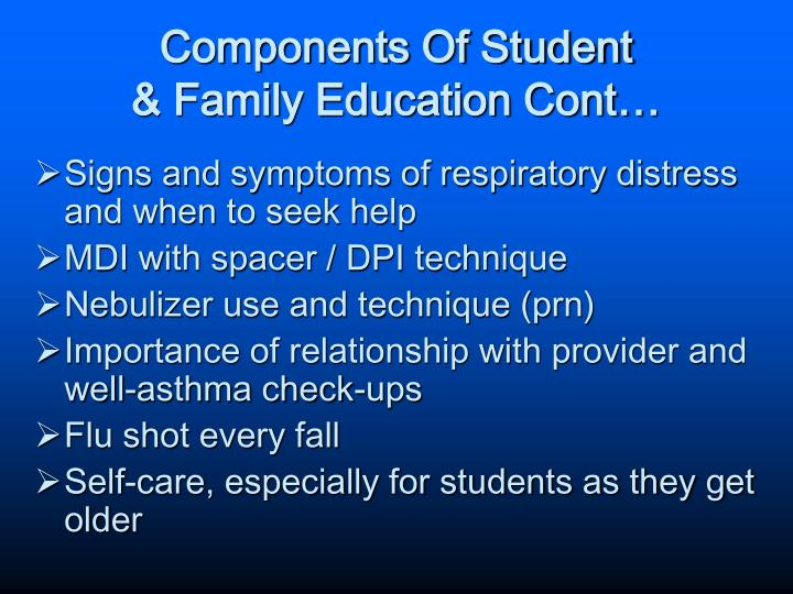 Components Of Student