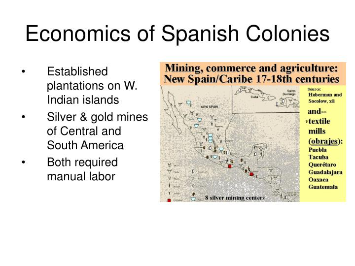Economics of Spanish Colonies