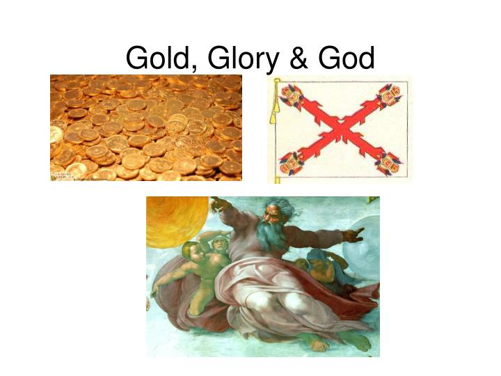 Gold glory god