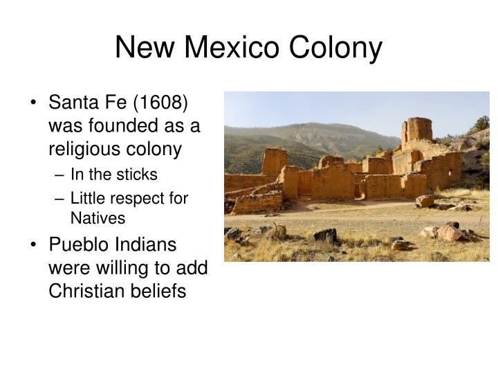 New Mexico Colony