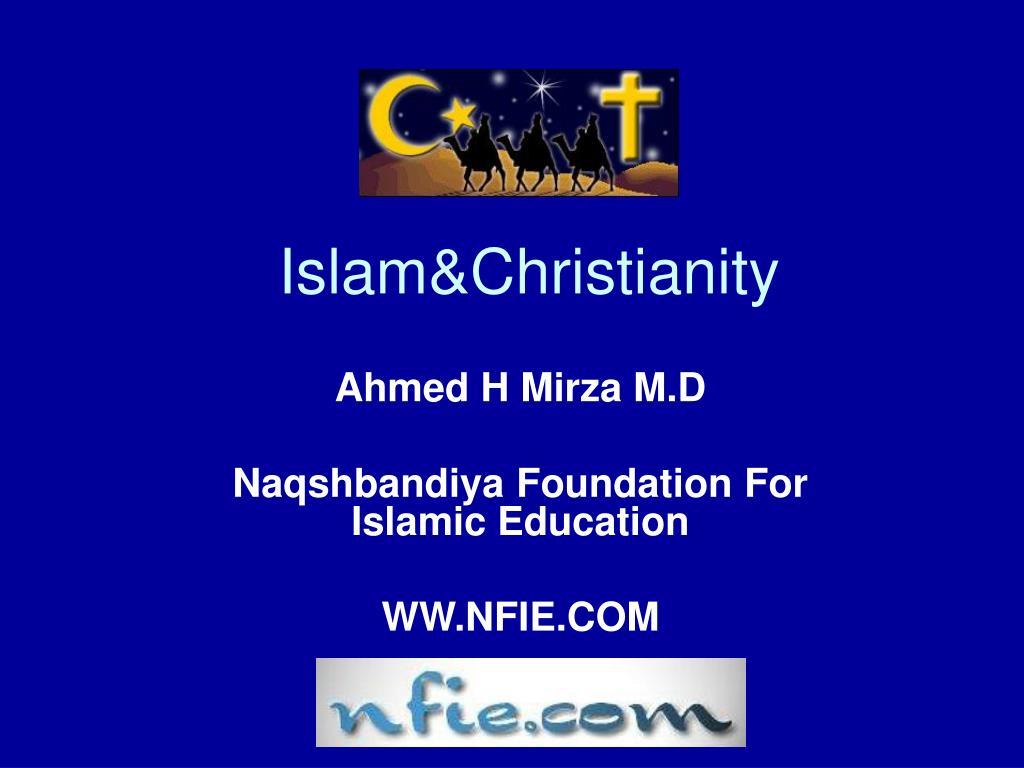 Islam&Christianity