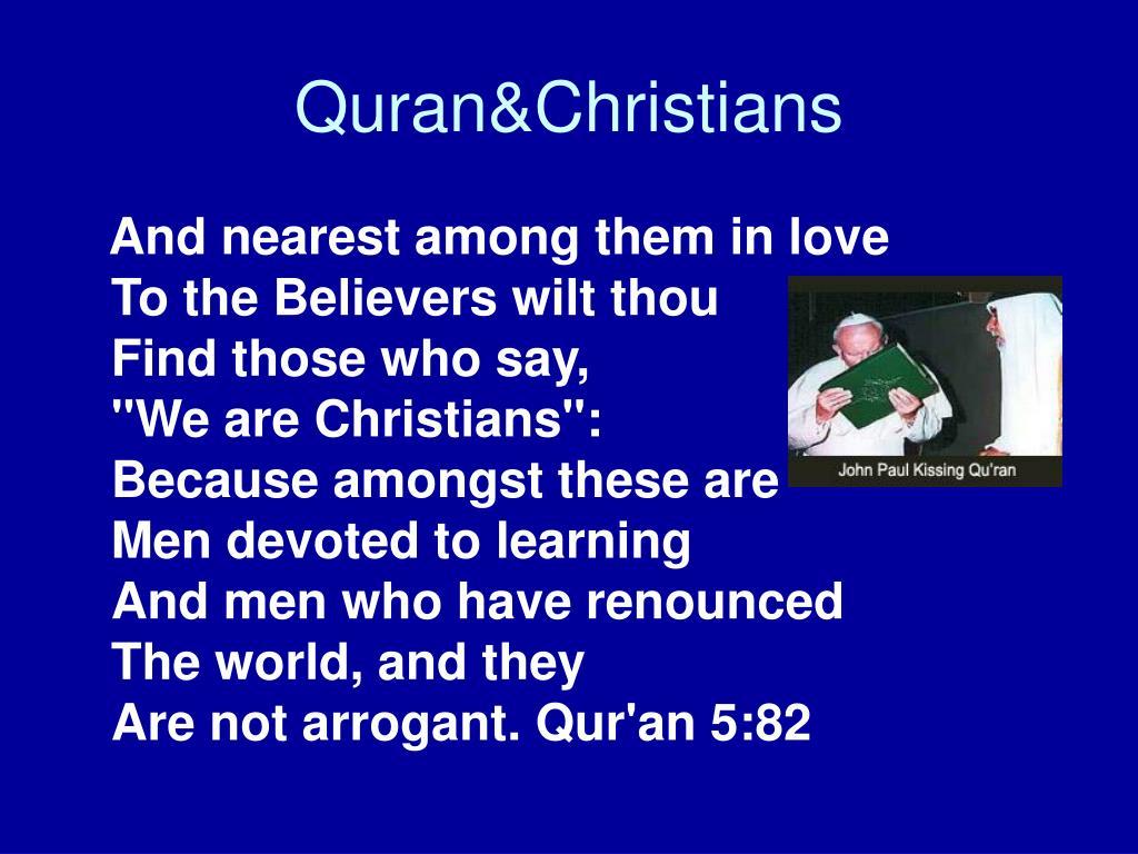 Quran&Christians