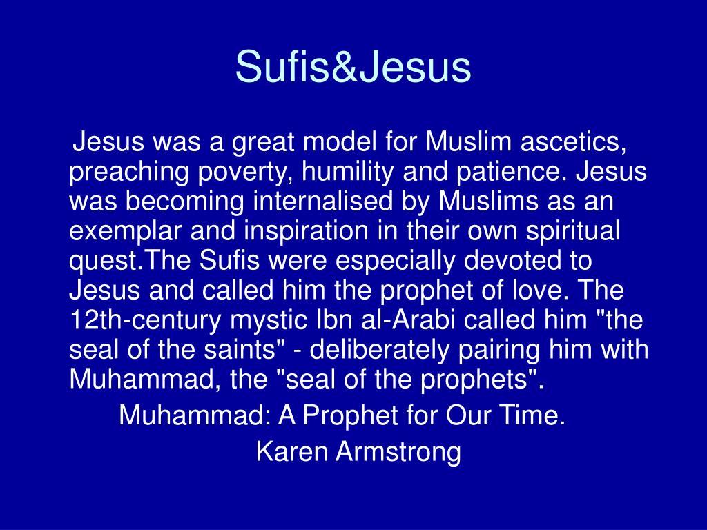 Sufis&Jesus