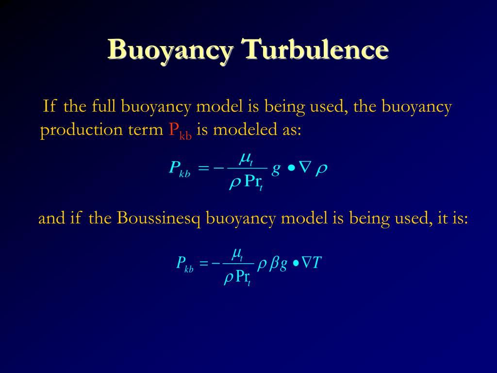 Buoyancy Turbulence